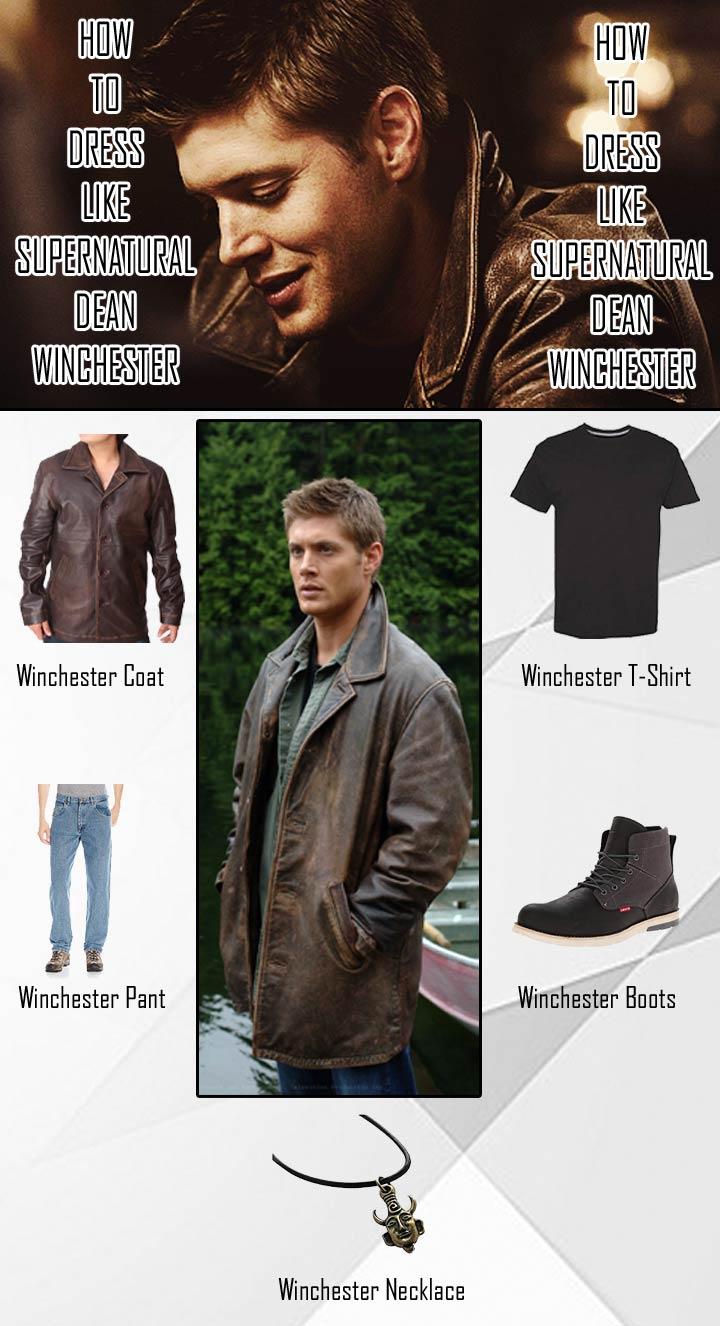 Supernatural Dean Winchester Costume Guide
