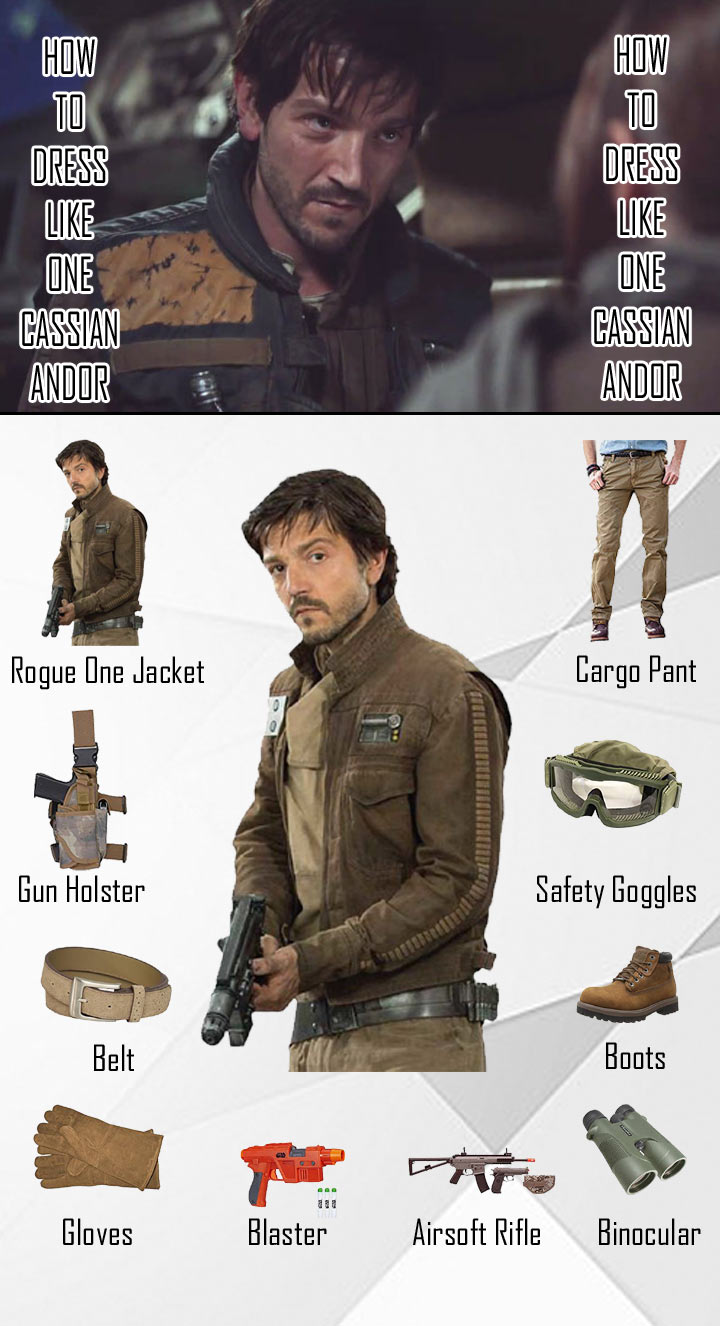 Star Wars Rogue One Cassian Andor Costume Guide