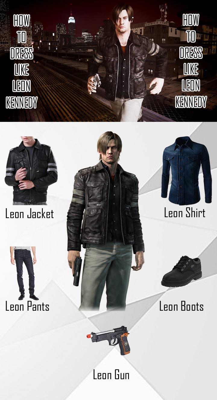 Leon Kennedy Resident Evil 6 Costume Guide