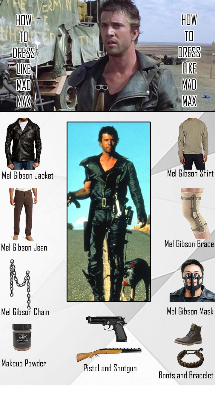Mel Gibson Mad Max Costume Guide