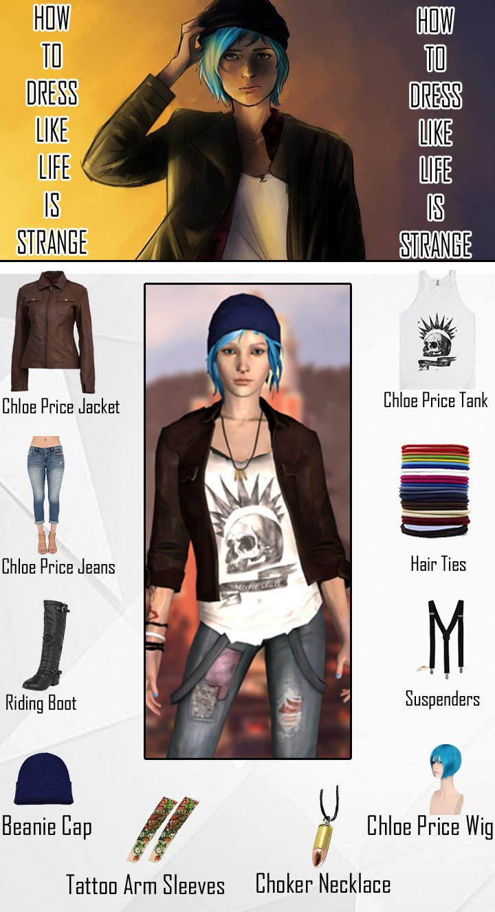 Life Is Strange Chloe Price Costume Guide