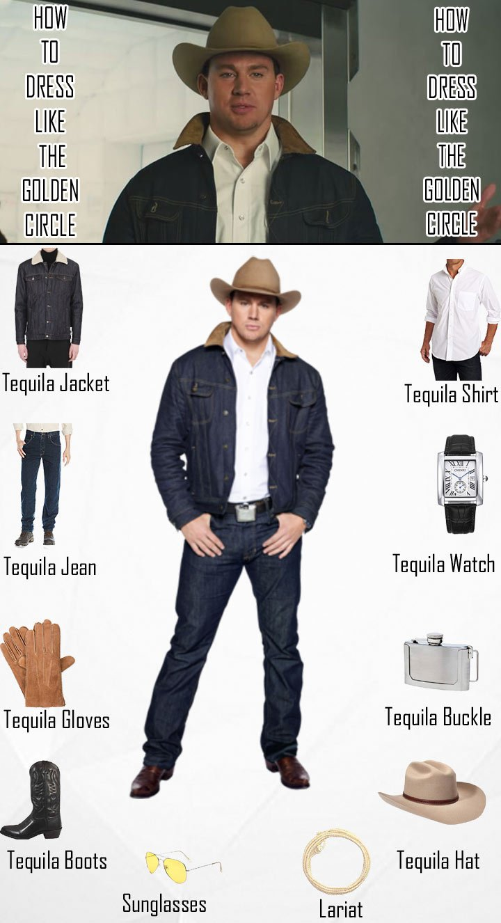 Kingsman The Golden Circle Agent Tequila Costume Guide