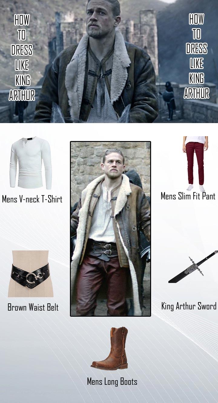 Charlie Hunnam King Arthur Costume Guide