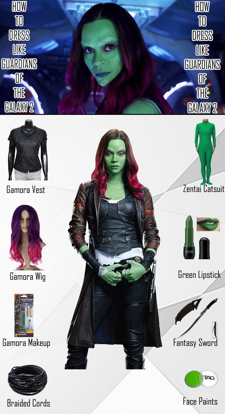 Guardians of The Galaxy 2 Gamora Costume Guide