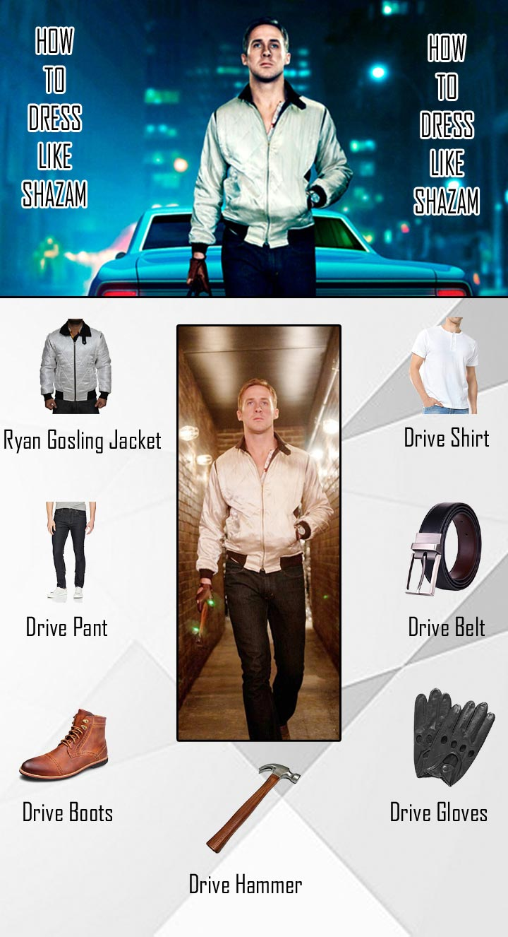 Crime Movie Ryan Gosling Drive Costumes Guide