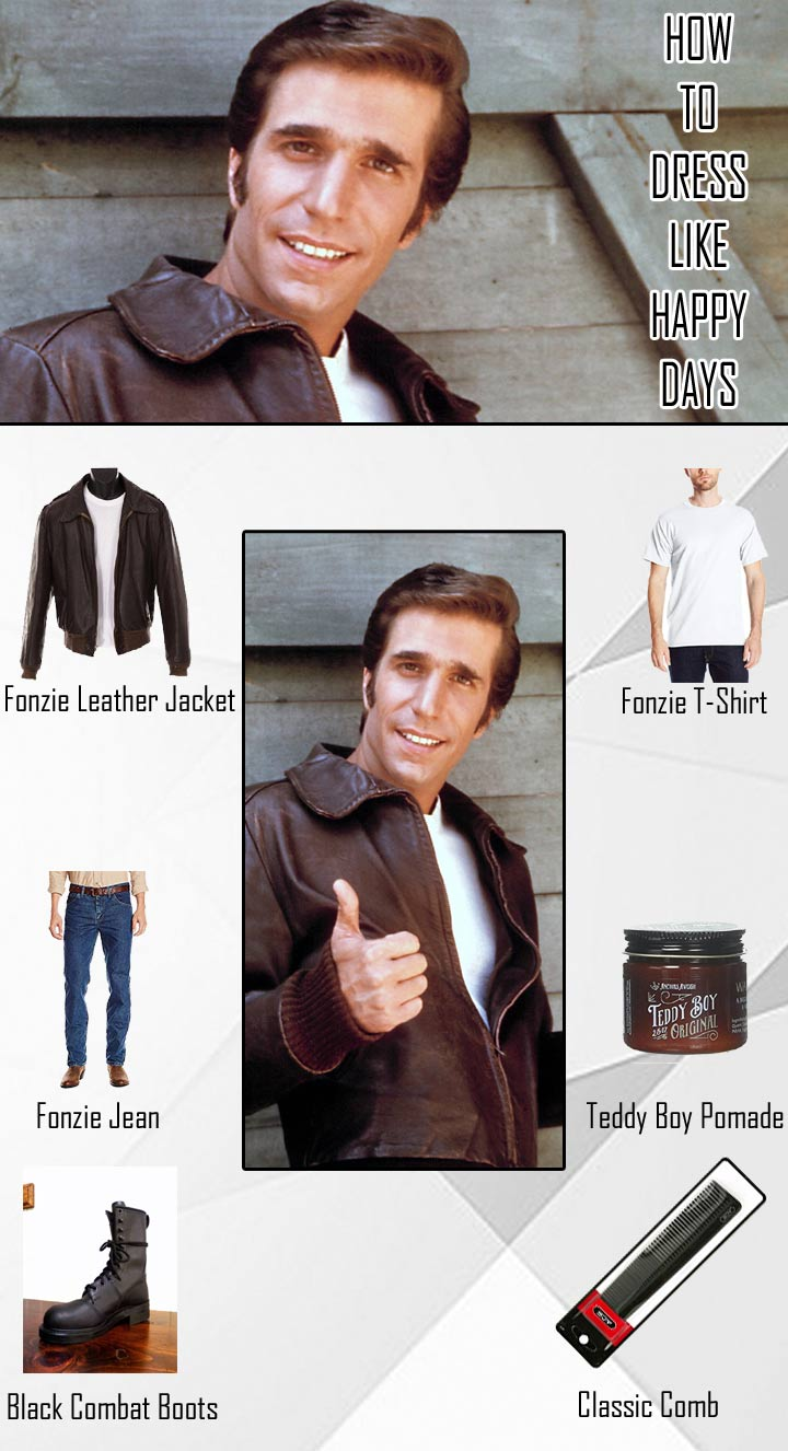 Happy Days Fonzie Costume Guide