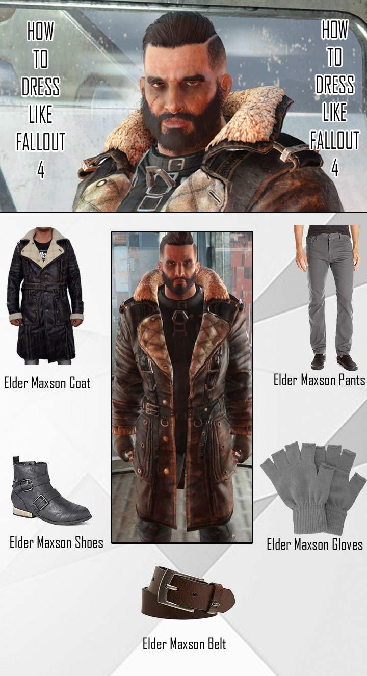 Fallout 4 Elder Maxson Costume Guide
