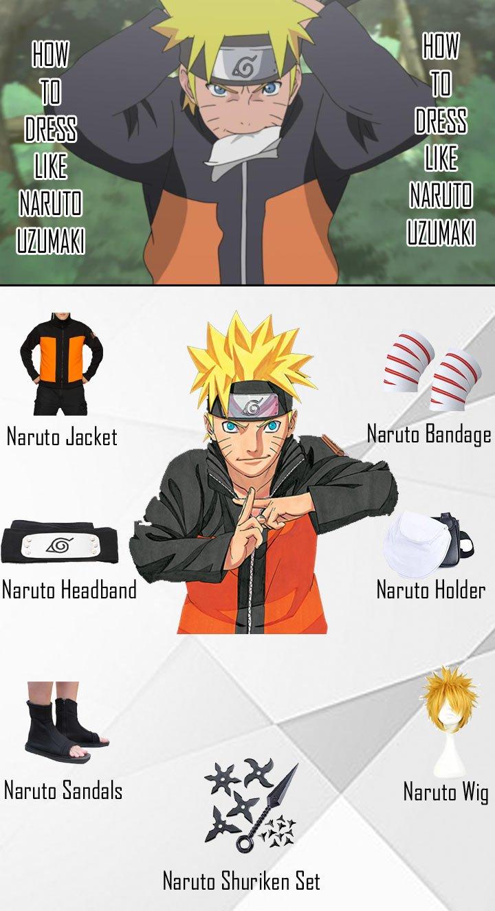 Naruto Uzumaki Costume Guide