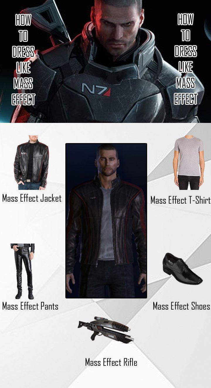 Mass Effect 3 N7 Costume Guide