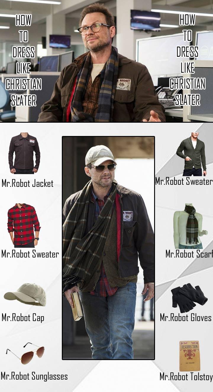 Christian Slater Mr Robot Costume Guide