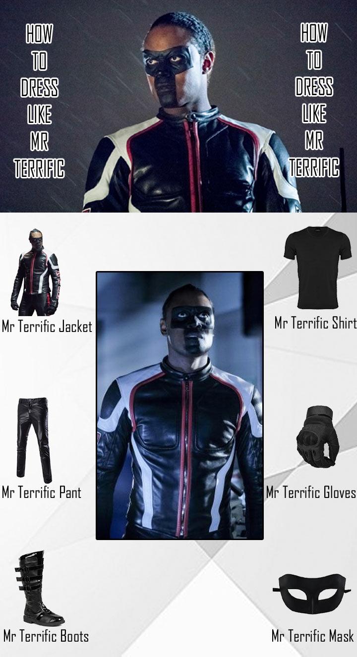 Mr Terrific Costume Guide