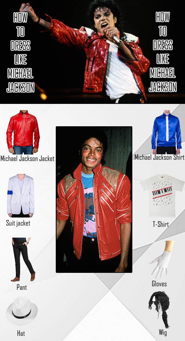 Michael Jackson Beat It And Thriller Costume Guide