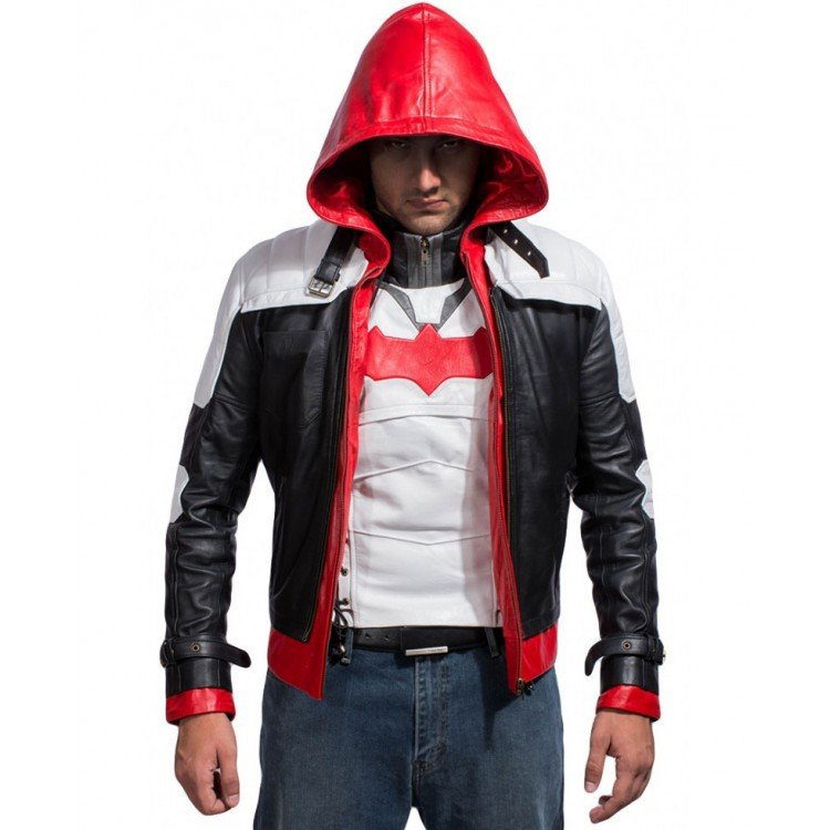Red hood Jacket with Vest