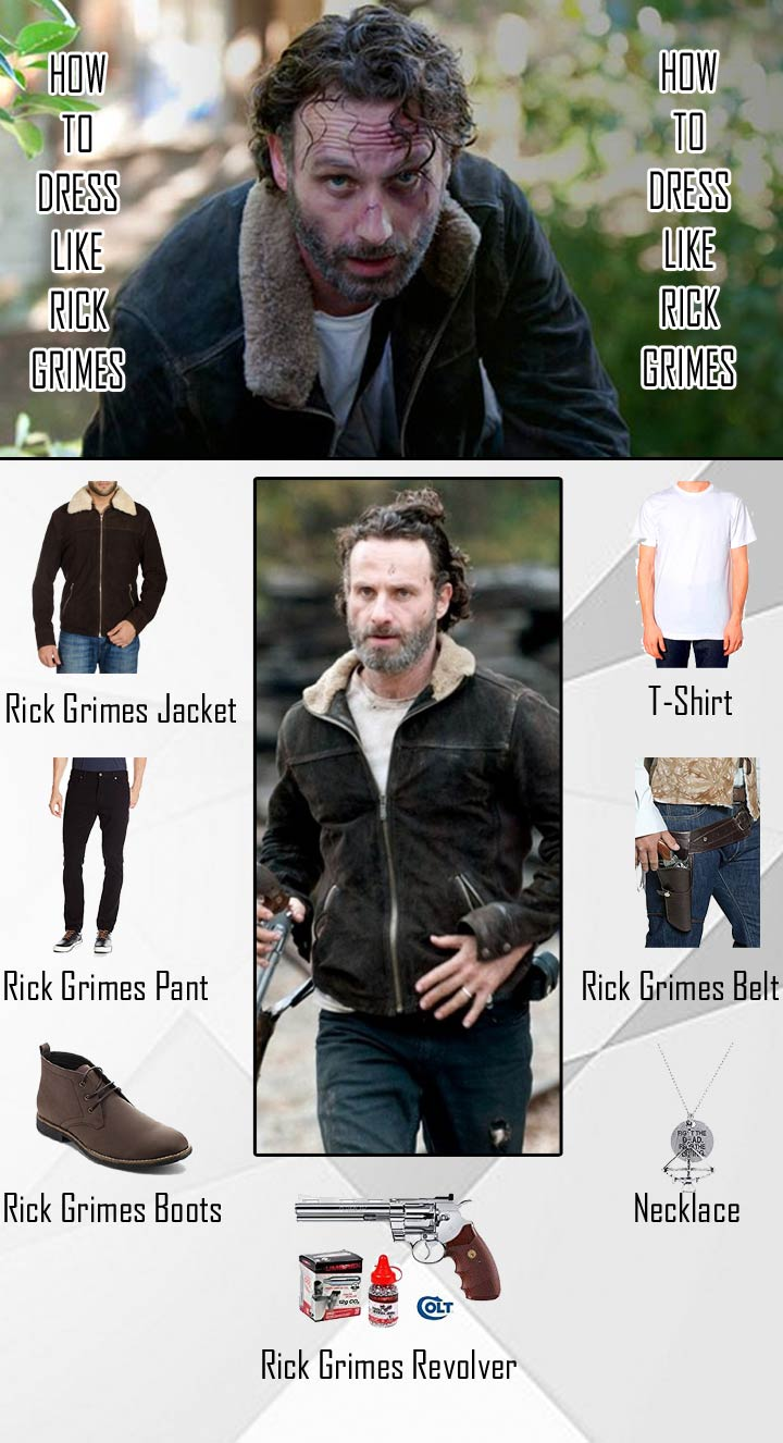 The Walking Dead Rick Grimes Costume Guide