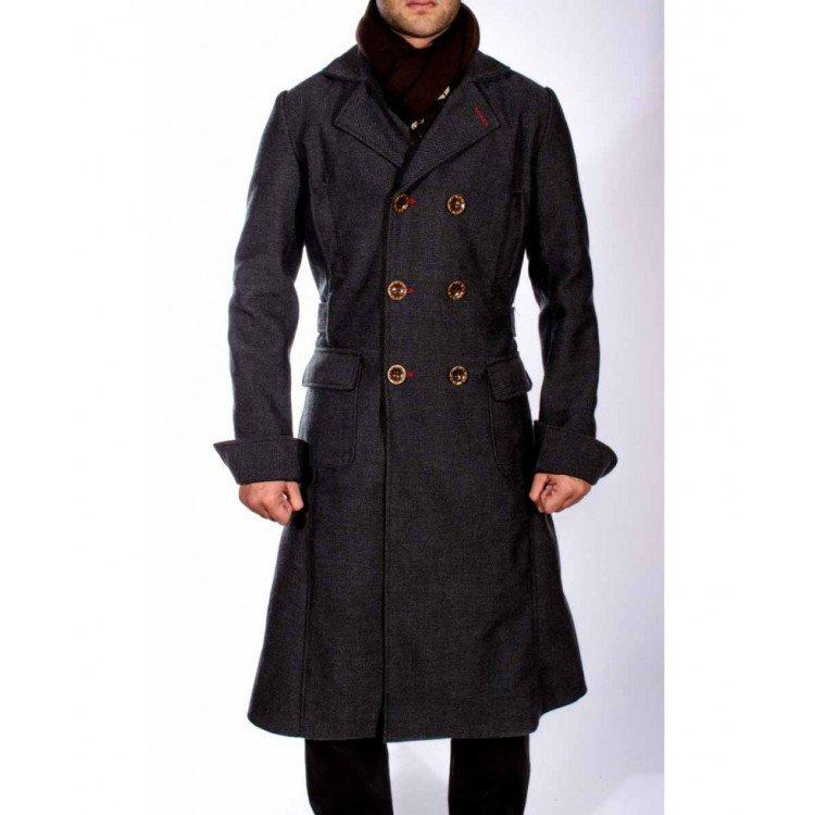 Sherlock Double Breasted Coat