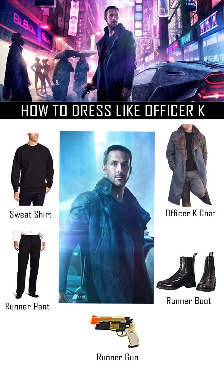 Ryan Gosling Blade Runner 2049 Costume Guide