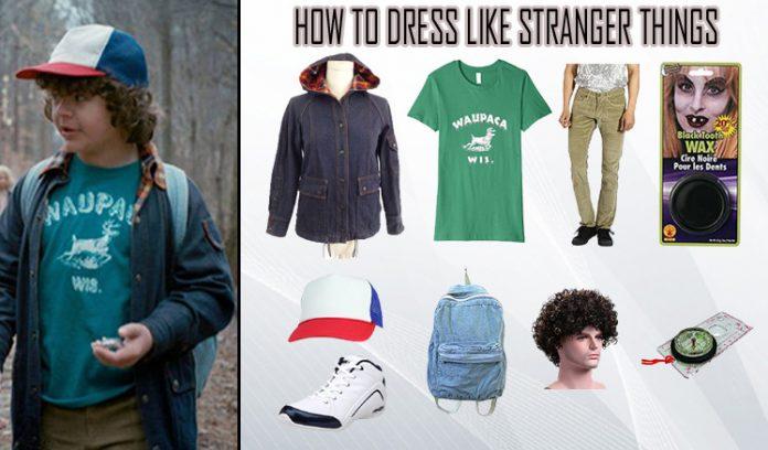 Stranger Things Dustin Henderson Costume