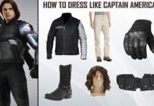 Captain America Civil War Winter Soldier Costume Guide