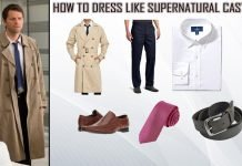 Supernatural Castiel Costume