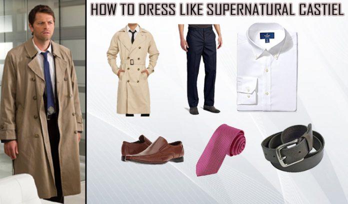 Supernatural Castiel Costume
