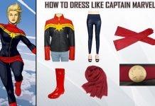 Carol Danvers Captain Marvel Costume
