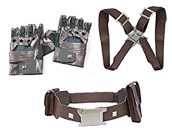 Gloves, Arm belt and Gun belt