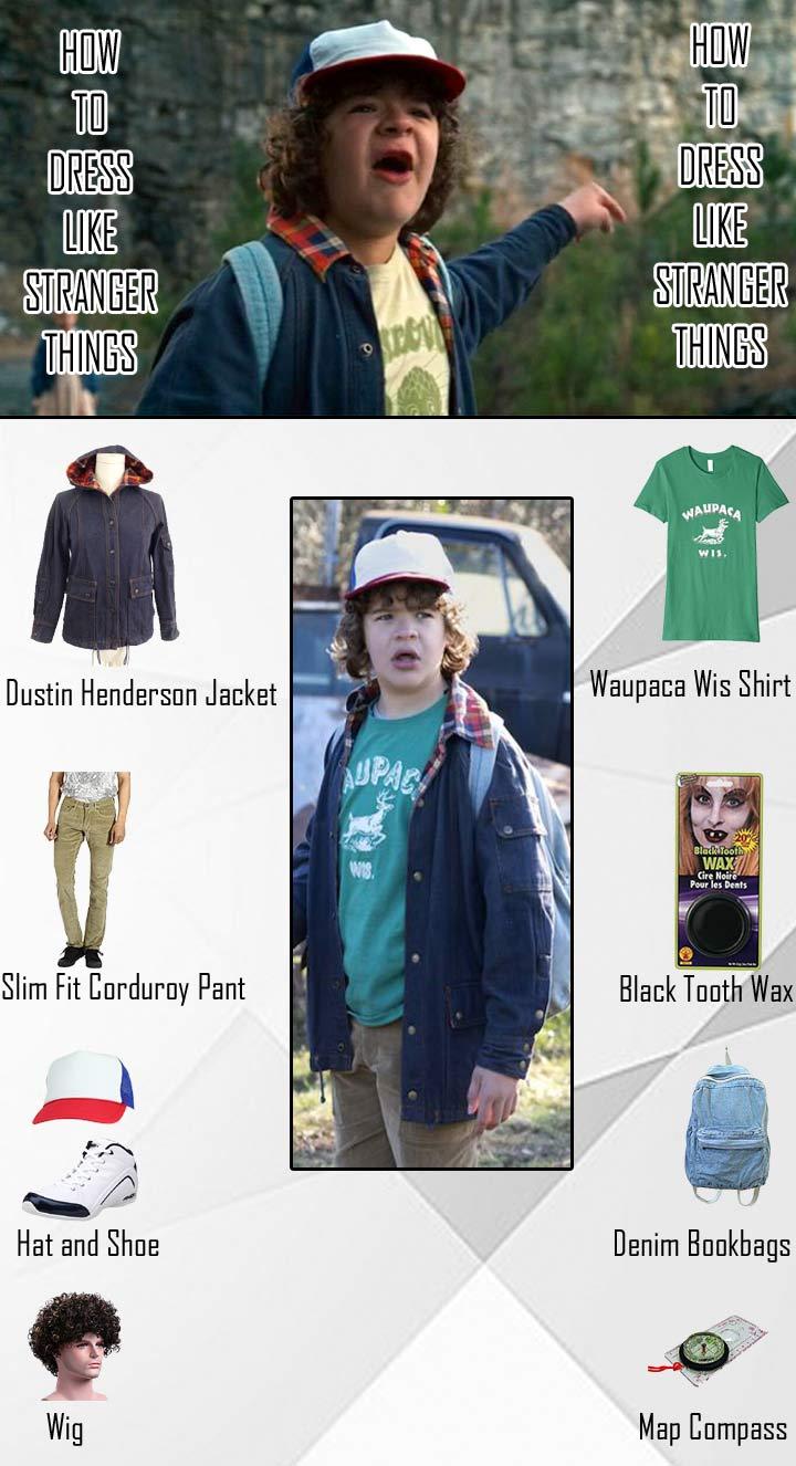 Stranger Things Dustin Henderson Costume Guide