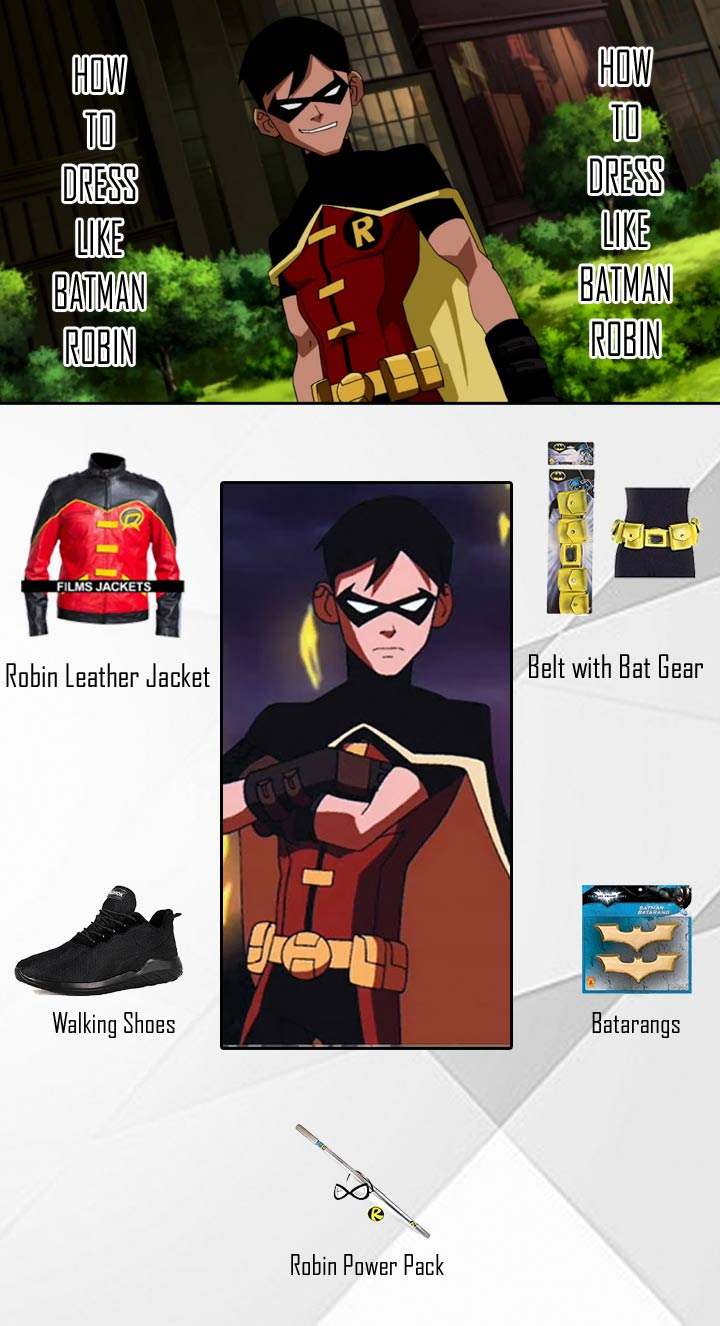 Batman Robin Costume Guide