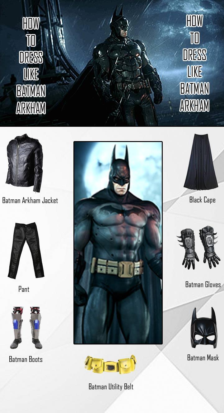 Batman Arkham Knight Costume Guide
