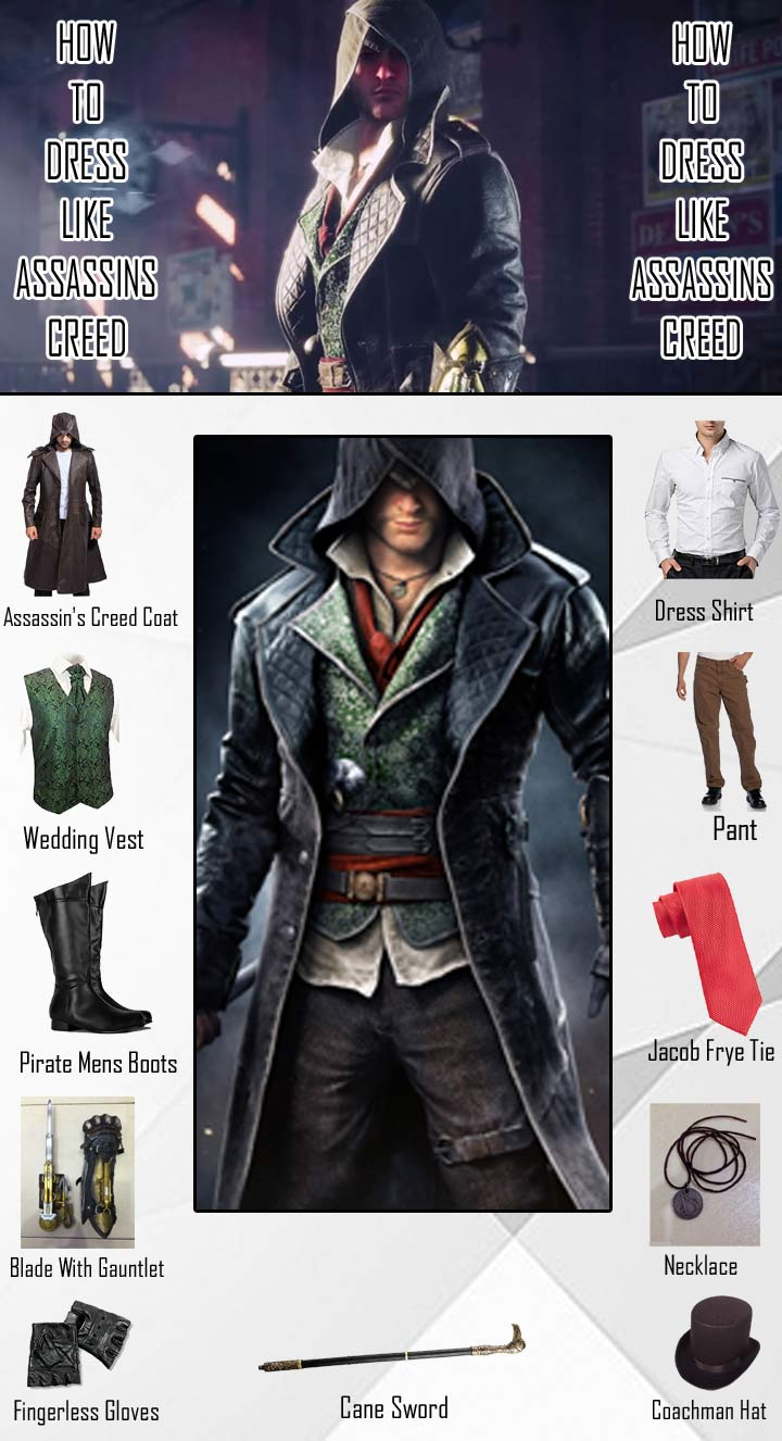 Assassins Creed Jacob Frye Costume Guide