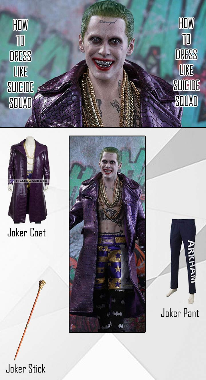 Suicide Squad Joker Costume Guide