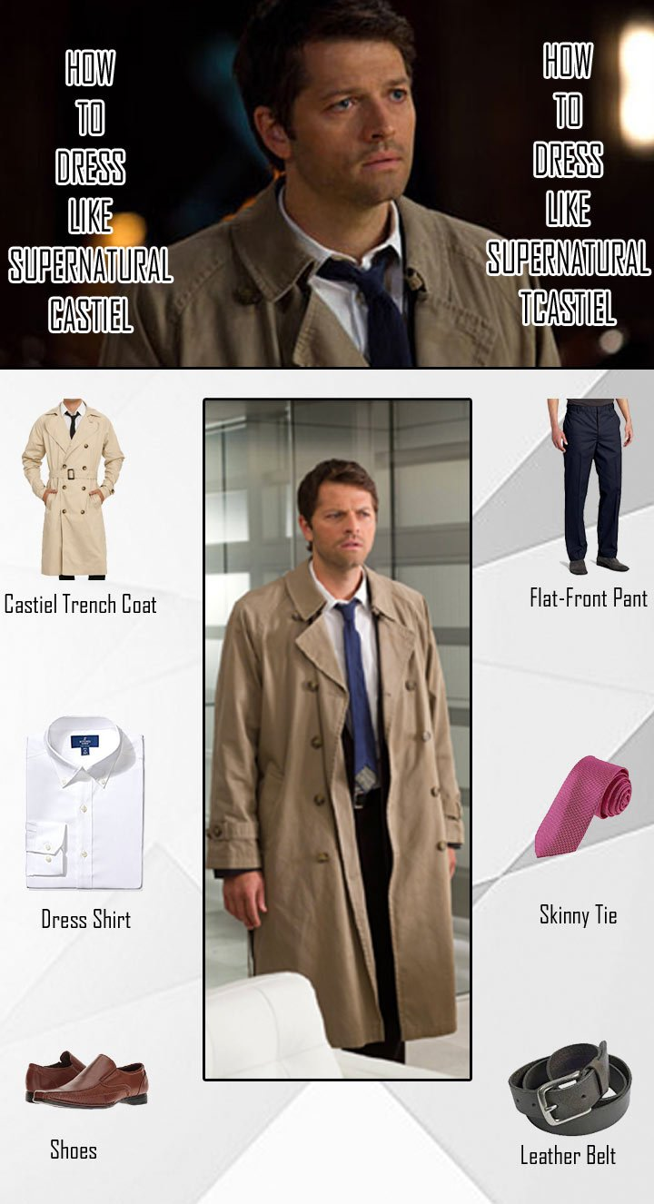 Supernatural Castiel Costume Guide