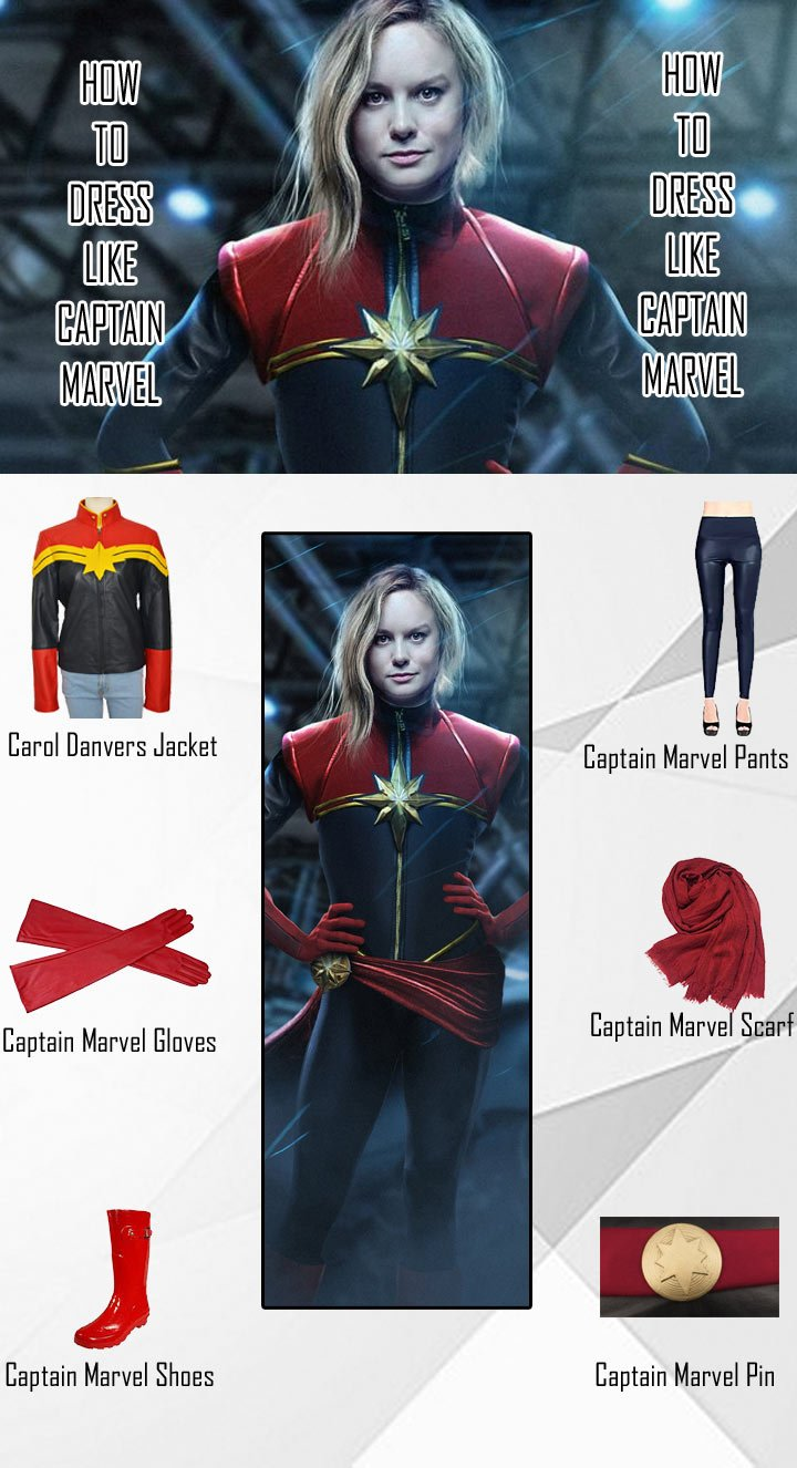 Carol Danvers Captain Marvel Costume Guide