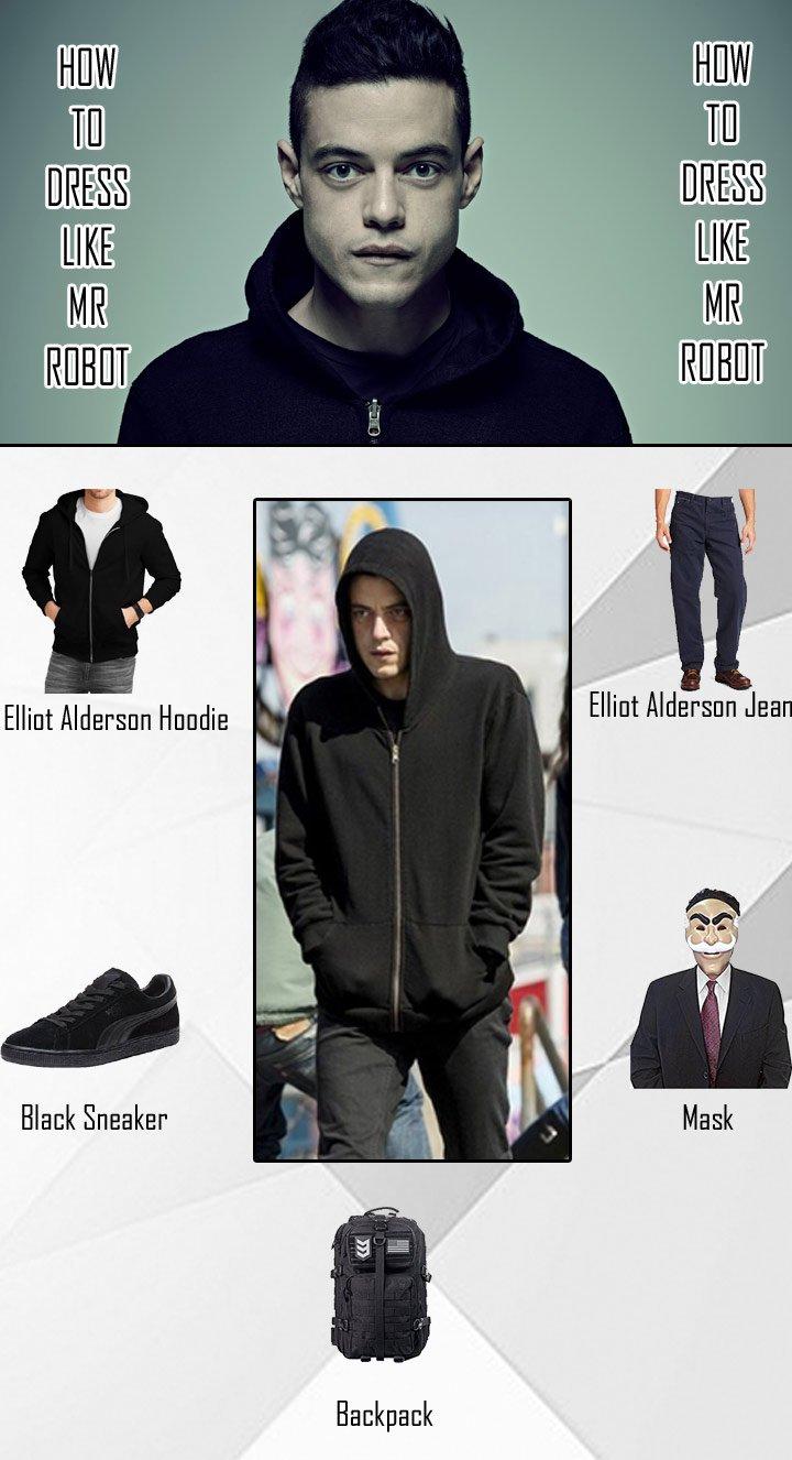 Mr Robot Elliot Alderson Costume Guide