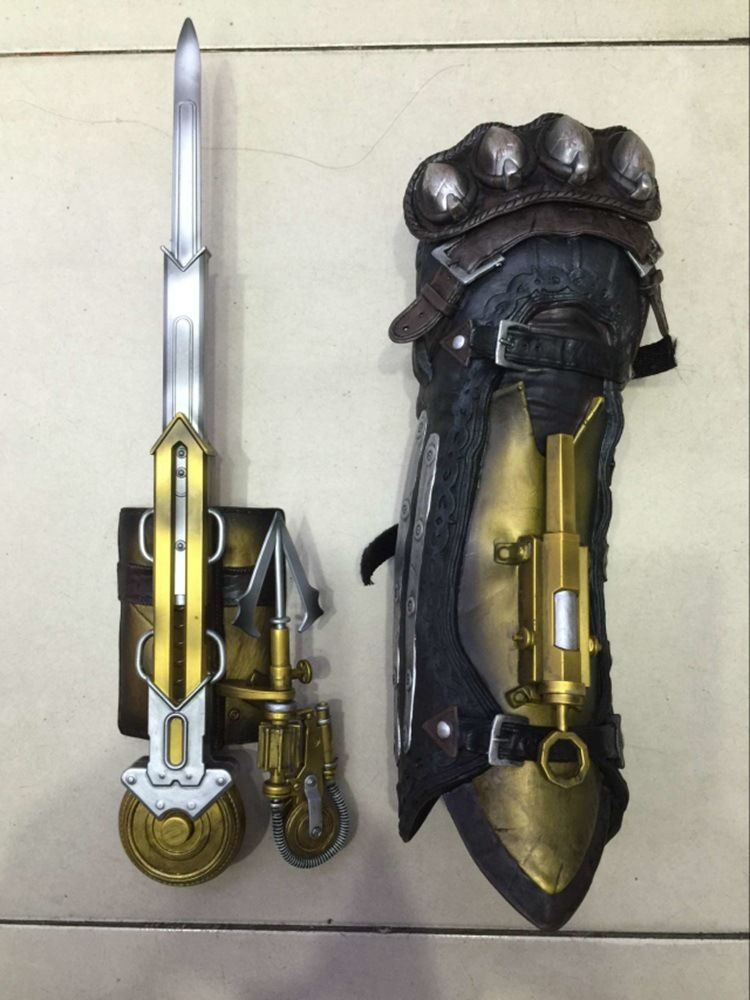 Hidden Blade With Gauntlet