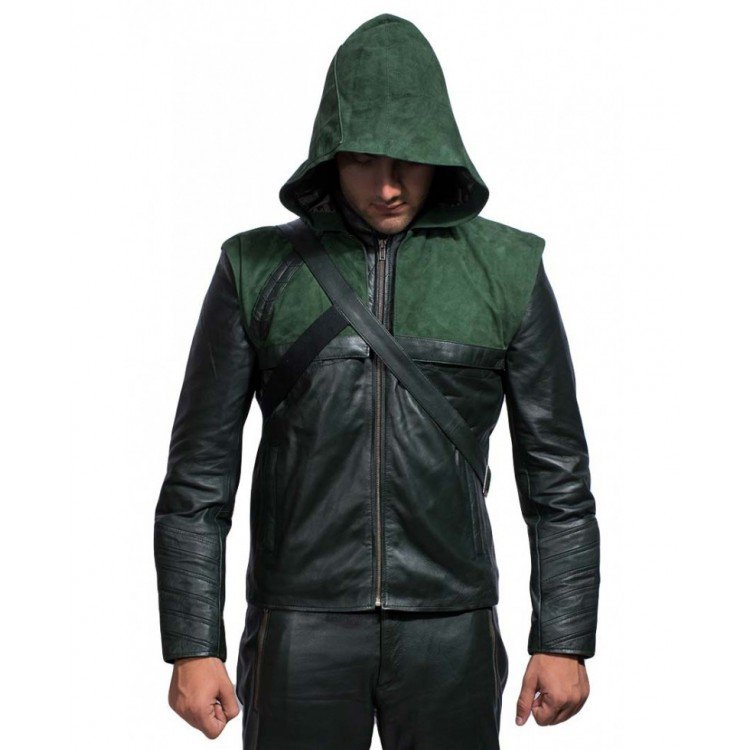 green-arrow-hoodie