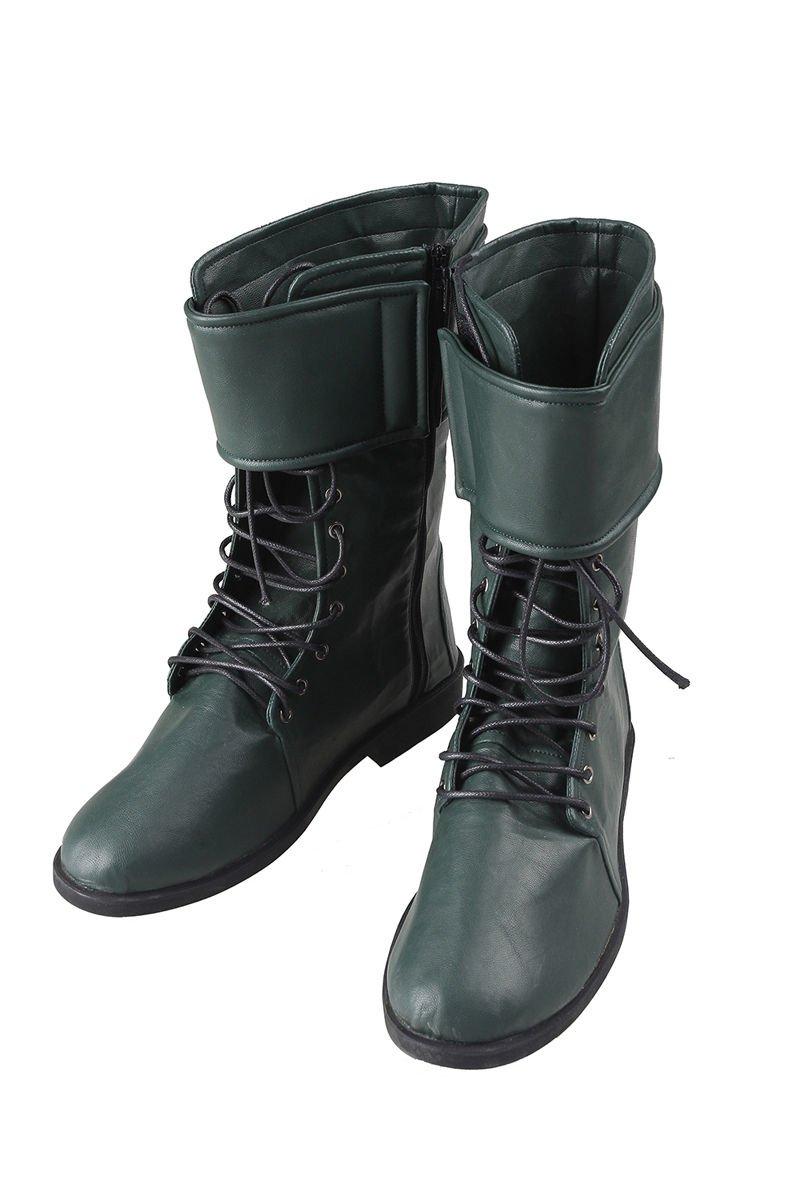 green-arrow-shoes