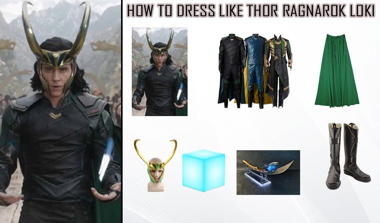 Tom Hiddleston Thor Ragnarok Loki Costume Guidecosplay Costumes Guides Diy Superheros And Celebrities