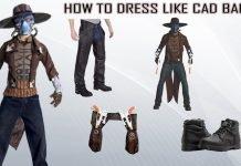 Cad-Bane-Costume