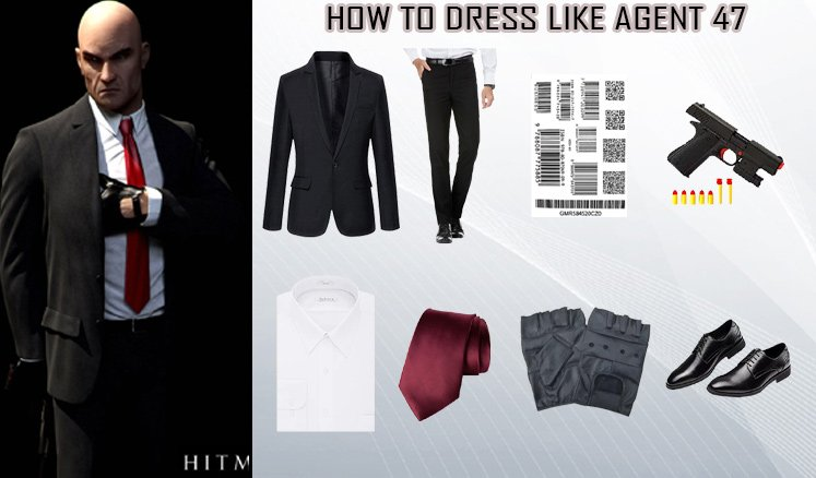 Rupert Friend Hitman Agent 47 Costume Guidecosplay Costumes Guides