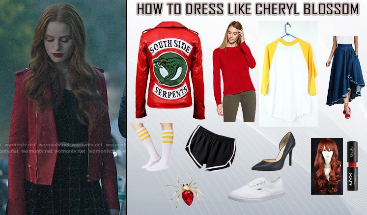Riverdale Season 2 Cheryl Blossom Costume Guide