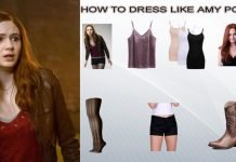 Amy Pond Costume Guide