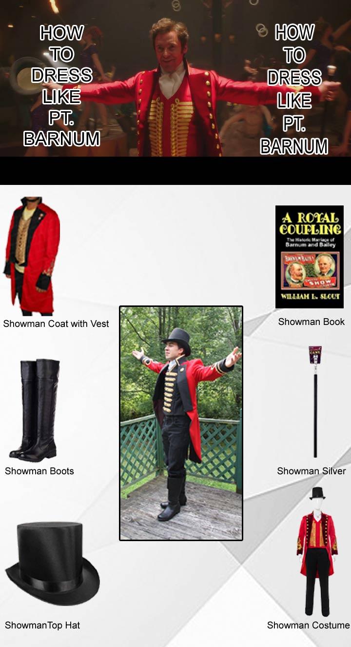 Showman Pt Barnum Costume
