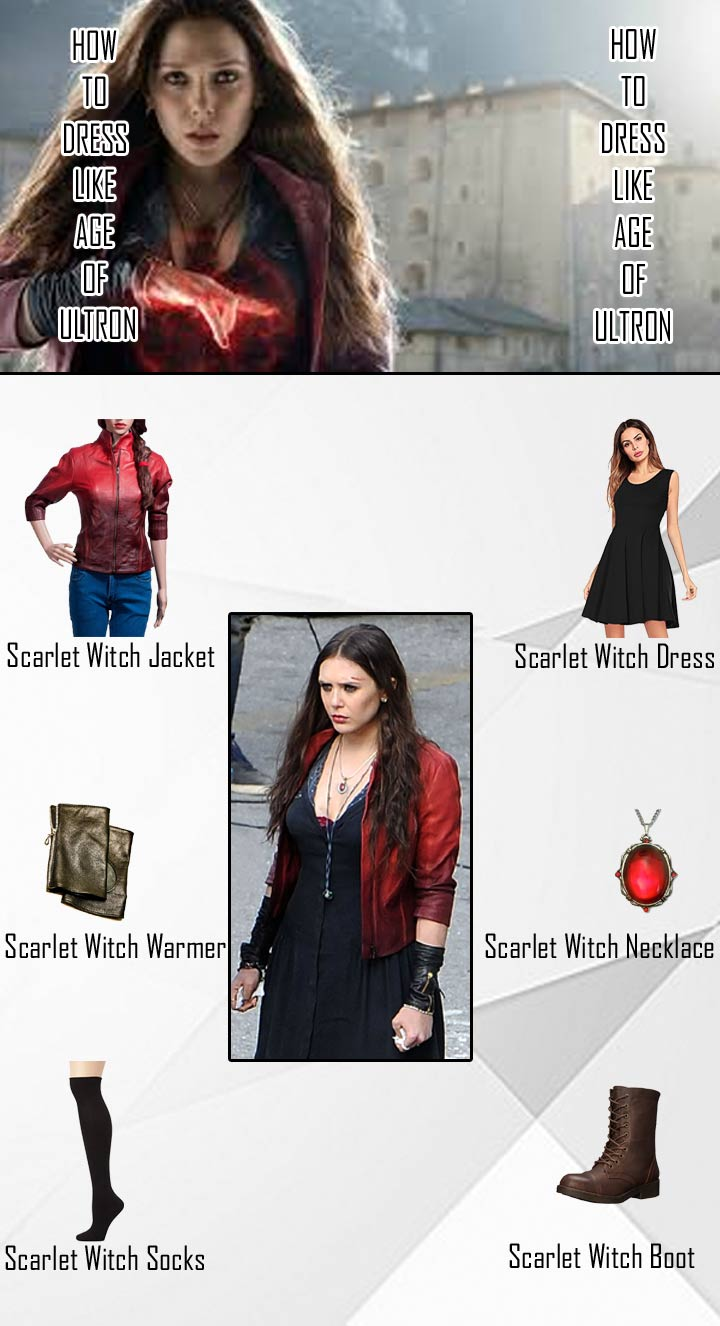 Ultron Scarlet Witch Costume