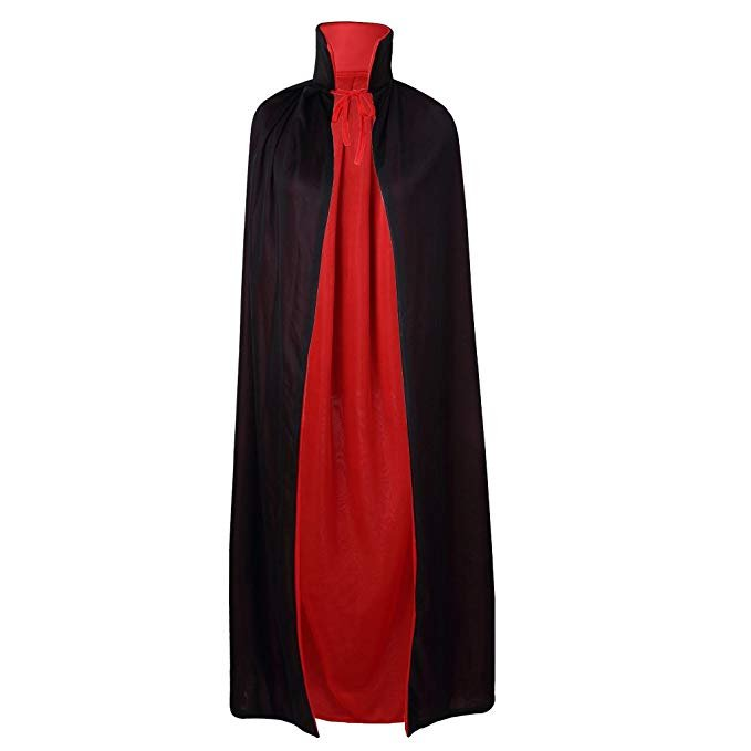 35-inch-red-and-black-cape