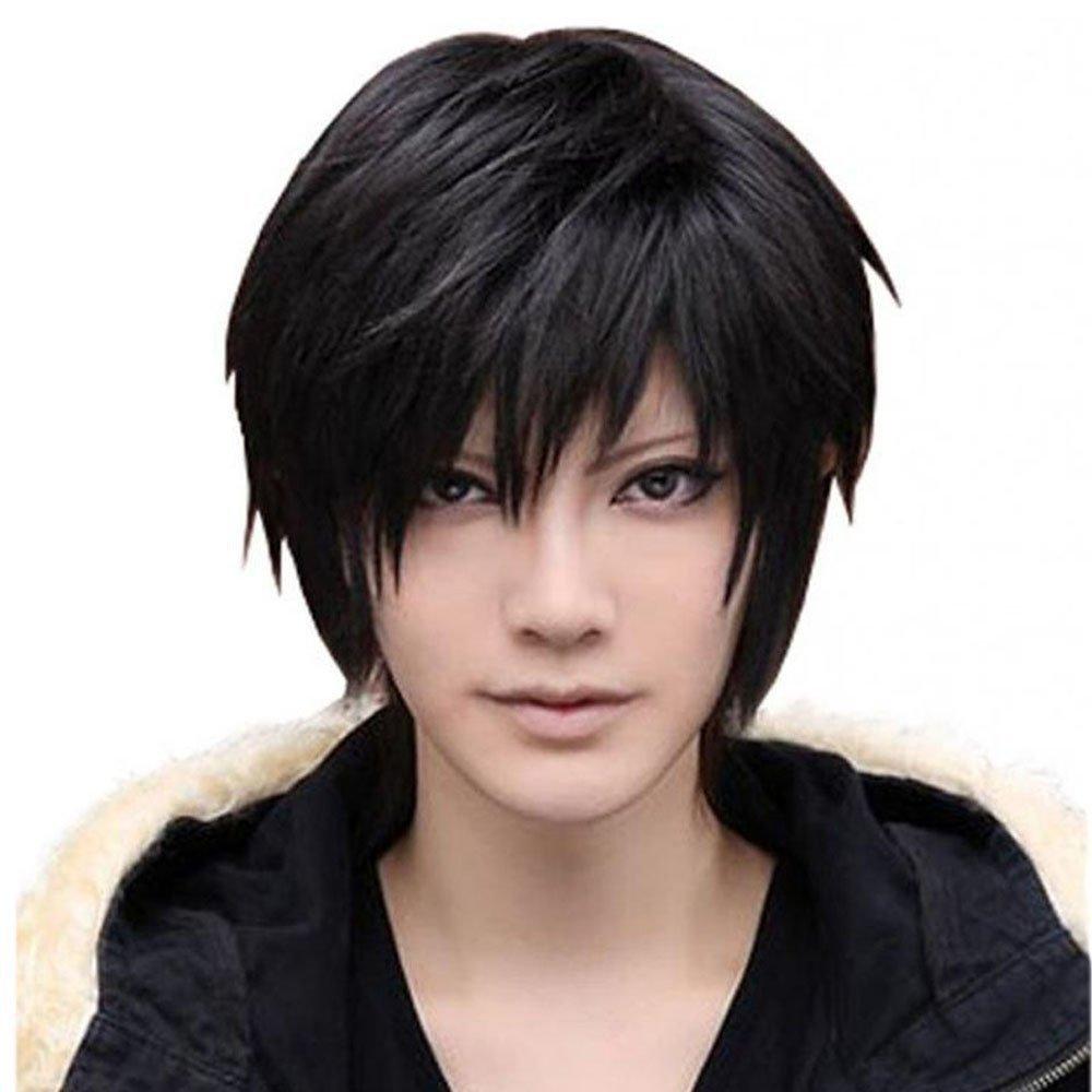 black-spiky-wig