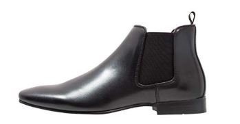 black-pull-on-ankle-boots