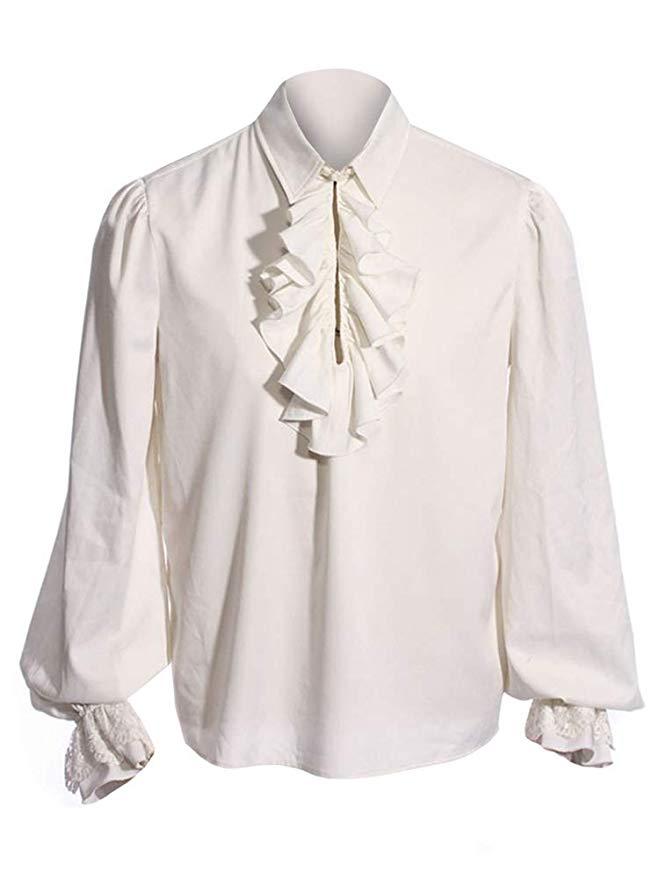 white-victorian-ruffled-shirt