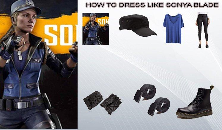 Mortal Kombat 11 Video Game Sonya Blade Costume Guide