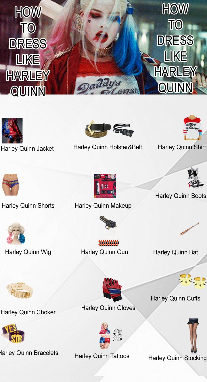 how-to-dress-like-harley-quinn-from-suicide-squad-movie